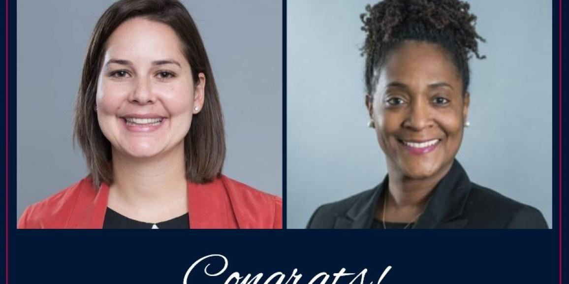 Congrats, Sharnette and Sarah!