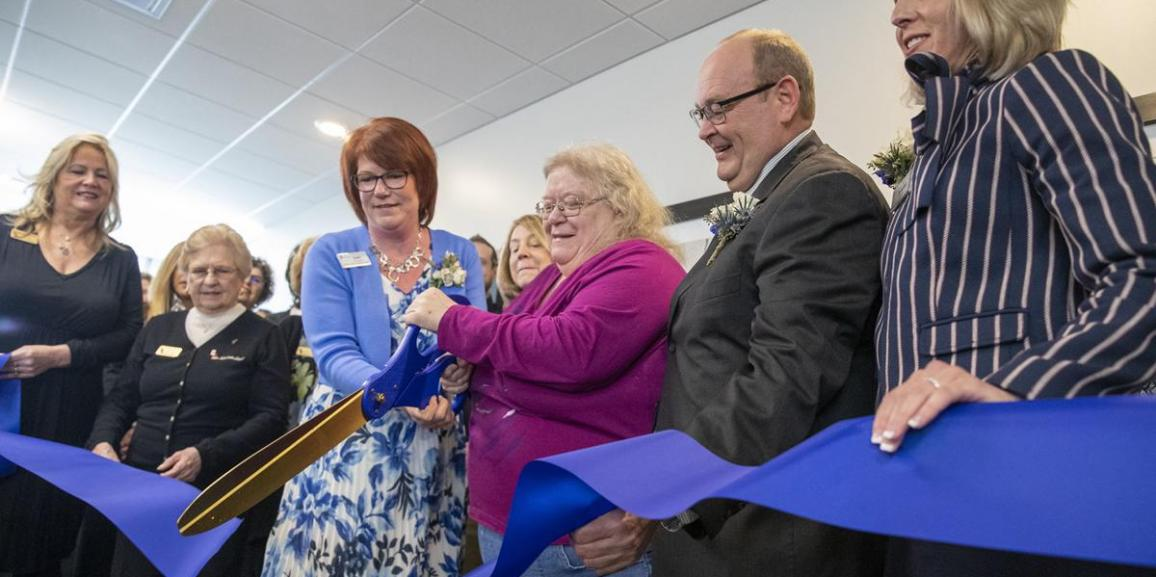 Graceview Courtyard Ribbon Cutting Ceremony