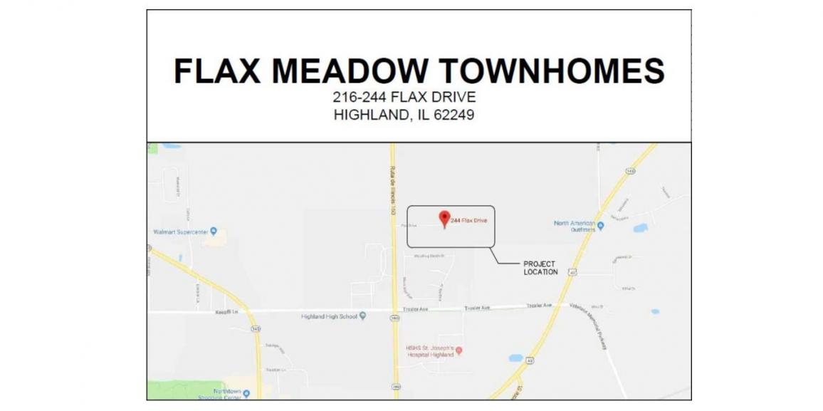 Loan Closing and Construction Start for Flax Meadow Townhomes