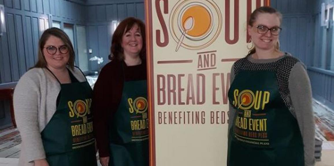 Lightengale Group Attends BEDS Plus Soup & Bread Fundraiser